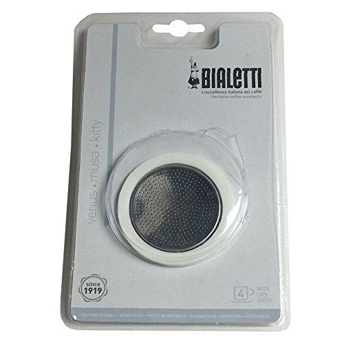 Bialetti 5370/AP Kaffeefilter, Kaffeefilter, Silber, Metall, 1 Stück
