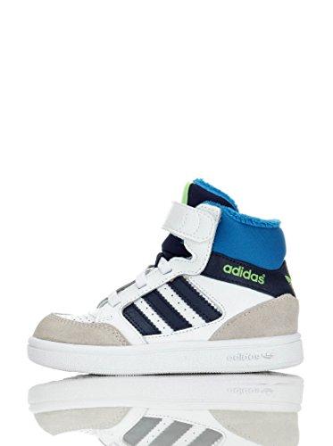 adidas Sneaker Alta PRO Play CF I Bianco/Blu EU 21