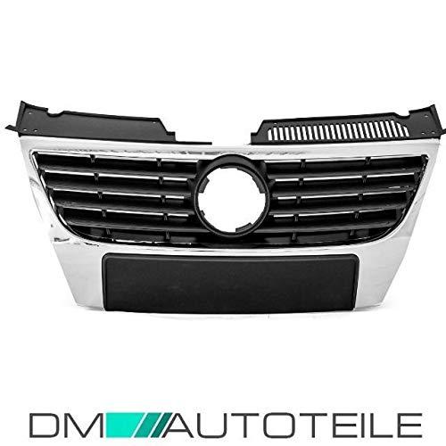 DM Autoteile Passat 3C 3C2 05-10 Front Grill Kühlergrill Chrom OHNE PDC +5 J.GARANTIE
