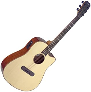 James Neligan LIS-DCFI LISMORE Series Dreadnought Cutaway Acoustic-Electric Guitar with FISHMAN Electronics