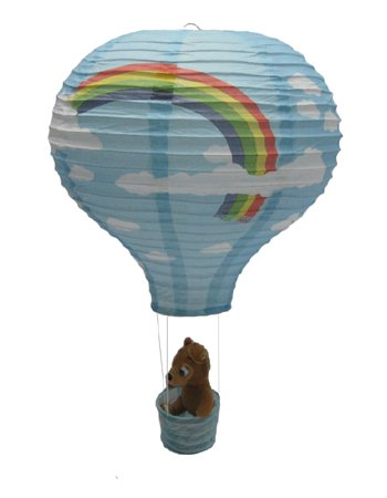süß Heißluftballon Reispapier Lampion Lampenschirm (Modell 03)