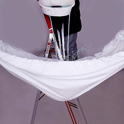 "COTTONHOUSE Queen Size 100% Waterproof Mattress Protectors Mattress Cover Hypoallergenic/Dust Proof 8""-21"" Deep Pocket Soft Breathable Noiseless"