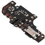 Compatible con Xiaomi Mi 10T Lite 5G / Redmi Note 9 Pro 5G / M2007J17G M2007J17C Flat Flex sub Board Dock Micro USB Jack Puerto Entrada USB para conector cable carga + micrófono Sync datos