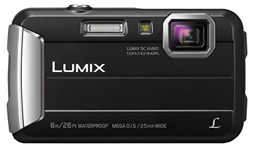 Panasonic LUMIX DMC-FT30EG-K Outdoor Kamera (16,1 Megapixel, 4x opt. Zoom, 2,6 Zoll LCD-Display, wasserdicht bis 8 m, 220 MB interne Speicher, USB, schwarz)