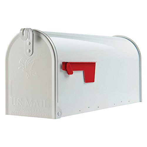 Original U.S. Mailbox - ELITE - Stahl - weiss - Gr. T1 Art E1100W00