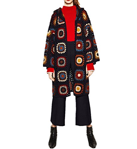 Limited Edition Crochet Coat with Hood