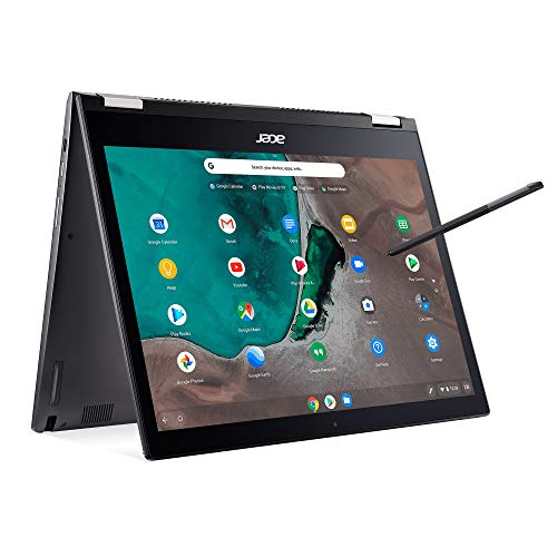 "Acer Chromebook Spin 13 CP713-1WN-53NF 2-in-1 Convertible, 8th Gen Intel Core i5-8250U, 13.5"" 2K Resolution Touchscreen, 8GB LPDDR3, 128GB eMMC, Backlit Keyboard, Aluminum Chassis,Steel Gray"