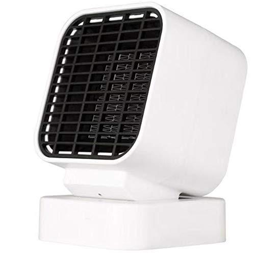 KAKTYY Mini Calentador portátil, 500W Calentador eléctrico Ventilador Mini Estufa Calentador portátil, Oscilante Calentador de cerámica para el hogar y la Oficina