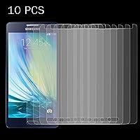 スクリーンプロテクター 10個入りGalaxy A5 0.26mm 9H表面硬度2.5D防爆強化ガラススクリーンフィルム 強化ガラスフィルム