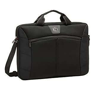 "Wenger 600642 SHERPA 14.1"" Laptop Slimcase (Black) (B004N1CWM6) 