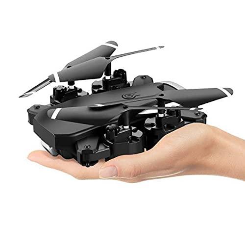 Drone Télécommandé À 6 Canaux Avec Caméra Pour Enfants, Drone 4k HD Pour Photographie Aérienne, Quadrirotor À Hauteur Fixe, Jouet D'avion Télécommandé Pliable Longue Durée, Cadeau D'anniversaire Pour