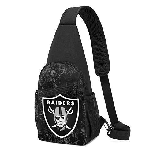 Oak-Land Raiders Crossbody Sling Bags Backpack Rucksack Shoulder Bag Daypack Chest Bag Hiking