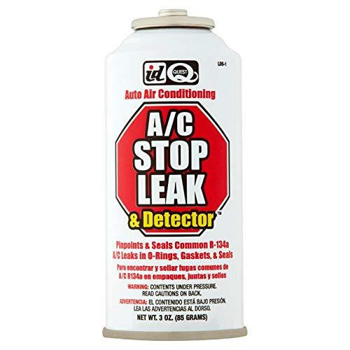 INTERDYNAMICS-QUEST R134a Leak Detector - Sealer - 3 OZ