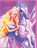 barbie: coloring book for kids and adults