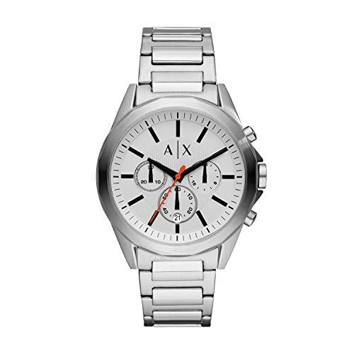 Armani Exchange Reloj Cronógrafo para Hombre de Cuarzo con Correa en Acero Inoxidable AX2624