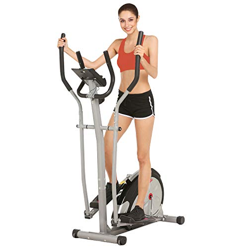 ANCHEER Elliptical Exercise Machine with Magnetic Flywheel, Quiet & Compact Cross Trainer...