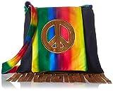Amscan 843057 Colorful Peace Hippie Handbag, 1 Piece