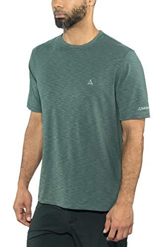 Schöffel Manila1 T-Shirt Homme, Noir, FR : S (Taille Fabricant : 46)