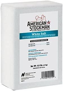 North American Salt 90012 White Brick Pet Nutritional Supplement, 4-Pound