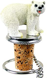 Polar Bear Wine Bottle Stopper - ATB05