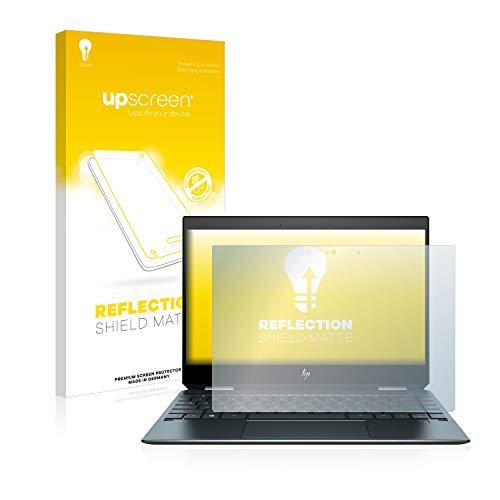 upscreen Entspiegelungs-Schutzfolie kompatibel mit HP Spectre x360 13-ap0117ng – Anti-Reflex Bildschirmschutz-Folie Matt