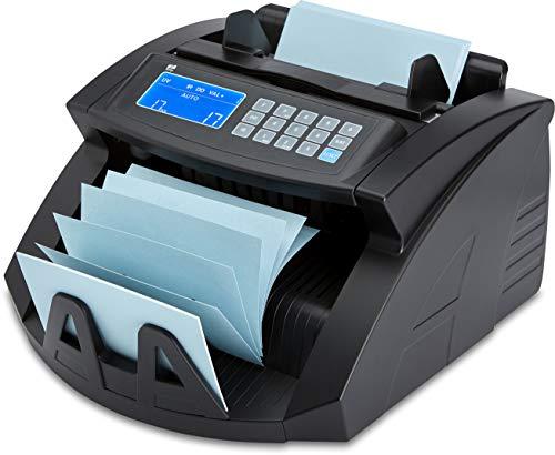 ZZap NC20+–Contador de billetes & Detector de dinero falso–Cuenta 1000billetes por minuto, Ramo de zählung, 4veces mayor falso Dinero Detección y mucho más.