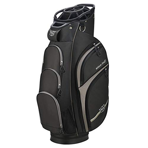 Wilson Staff Xtra Cart Bag, Black/Grey