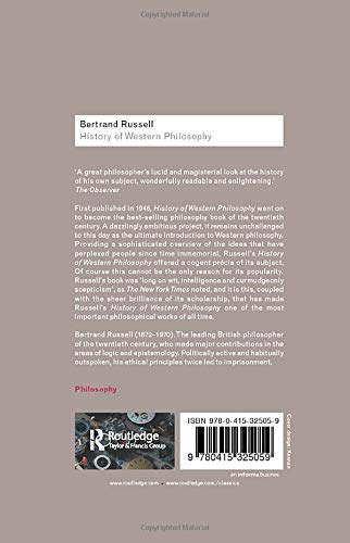 『History of Western Philosophy (Routledge Classics)』の2枚目の画像