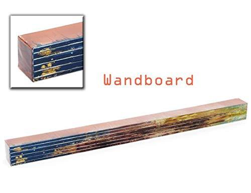 Unbekannt Wandboard 923157 Étagère Murale Bleu/Marron/Vert 110 cm