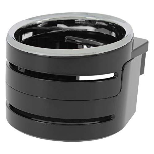 SUMEX DHX4000 Portabibite Universale, Supporto per Bottiglie, lattine, Bicchieri da caffè, per griglia di Ventilazione dell'auto, Nero, Mediano