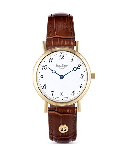 Bruno Söhnle Damen Analog Quarz Uhr mit Leder Armband 17-33110-920