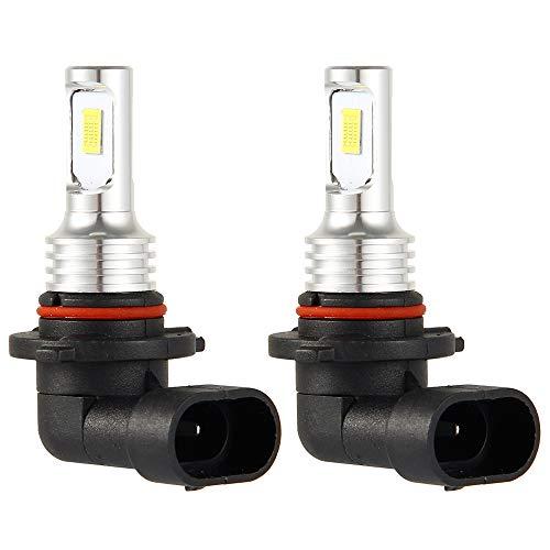 2 Piezas 9005 HB3 LED Bombillas Luz de Coche 4000LM 6000 K 12V DC 35W Faros...