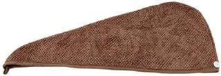 FidgetGear Microfiber Towel Quick Dry Hair Magic Drying Turban Wrap Hat Caps Spa Bathing LJ Coffee