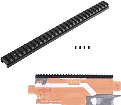 WORKER Soporte de riel Picatinny de 27,9 cm para Nerf Toy y Nerf Modify Parts