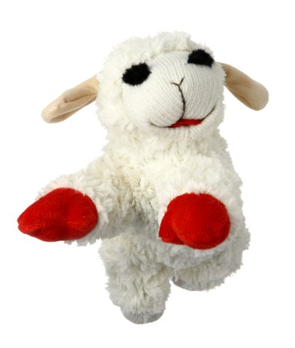 Multipet Plush Dog Toy Lambchop