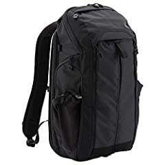 Main compartment has adjustable padded laptop sleeve, four gear slots, two abrasion-resistant zippered mesh pockets and strategically located loop panels and other hook and loop-compatible accessories Zippered admin pocket with key lanyard near top ...