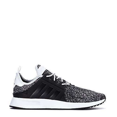 adidas Originals Mens X PLR Lace Up Sneakers Casual Sneakers, Black, 10.5