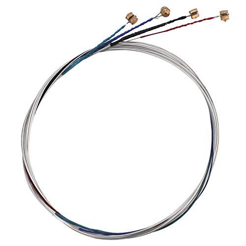 SAVITA Juego Universal De Cuerdas De Violín 4/4 Cuerda Plateada Clásica (GDAE) Núcleo De Acero Con Cabeza Esférica Niquelada Para Instrumentos De Violín