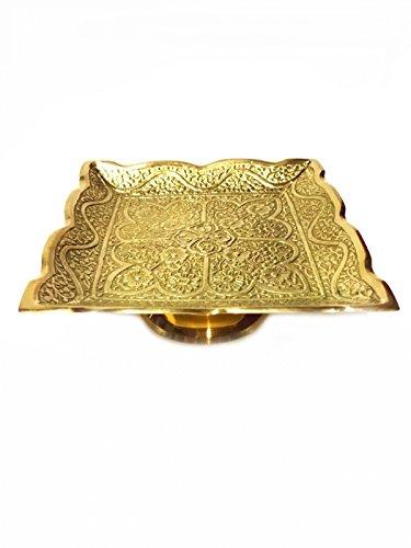 Marrakesch Orient & Mediterran Interior ® Orientalische Indische Messingschale Wakur