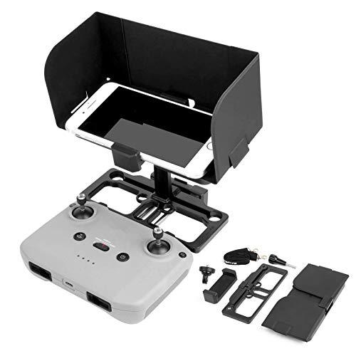 RUIZHI Tablet Monitor Sonnenhaube Abdeckung Sonnenschutz Schutz, Halter Handy Mount Halterung für DJI Mavic Mini 2 / Mavic Air 2 / Mavic 2 Pro/Mavic 2 Zoom/Air/Mini/Pro/Spark Fernbedienung Zubehör