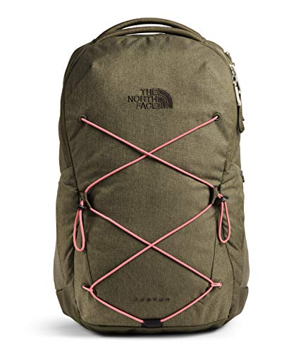 The North Face Women's Jester Backpack, Burnt Olive Green Light Heather/Mauveglow, One Size