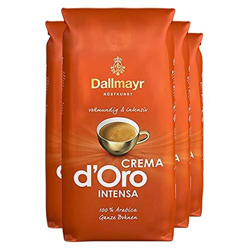 Dallmayr Crema d'Oro Intensa, Ganze Bohne - 1kg - 4x