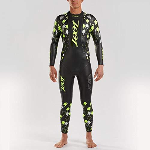 Zoot Herren Bolt Neoprenanzug mit Tasche, Aqua-Lift Auftriebsprofil und SCS Beschichtung, aus Yamamoto Neopren und ideal für Triathlon und Open Water-Swimming Größe XS
