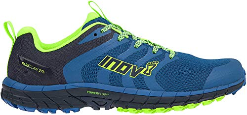Inov-8 Mens Parkclaw 275 - Trail Running Shoes - Wide Toe Box - Versatile Shoe for Road and Light Trails - Blue Green 12 M US