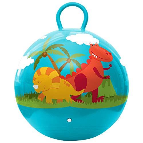 Hedstrom Dinosaurs Hopper Ball, Kid's Ride-on, Bouncy Ball, 18-Inch