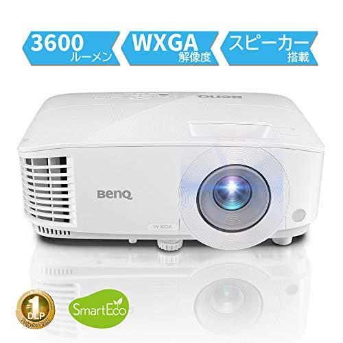 Benq MW550 beamer/3600 ANSI Lumen DLP WXGA (1280x800) 3D desktopprojector wit