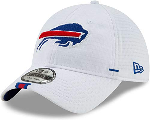 New Era NFL Buffalo Bills On Field 2019 - Gorra de Entrenamiento, Color Blanco