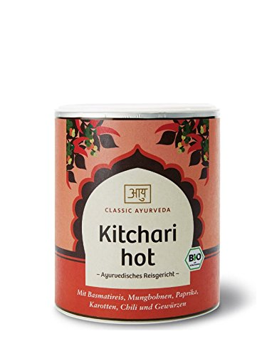 Classic Ayurveda - Bio Kitchari Hot (ayurvedisches Reisgericht), 1er Pack (1 x 320g) - BIO