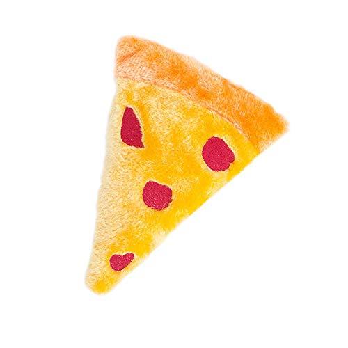 ZippyPaws Squeakie Emojiz Pizza Slice