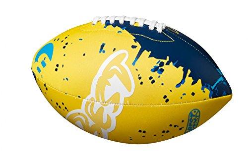 Best Sporting Neopren American Football, Verschiedene Farbausführungen (gelb/blau)